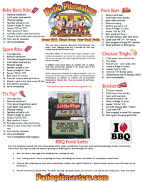 free bbq cheat sheet